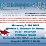 Flyer open support Variante 2